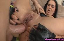 Ava Addams enjoys hard anal sex