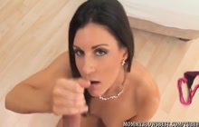 India Summer great POV blowjob